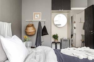 马尔默北欧风公寓 素雅空间里的温馨生活