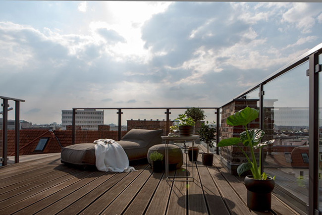 慕尼黑现代时尚感公寓 大气宁静的阁楼住宅-▄°-≡+~Oˊ_贵阳别墅设计