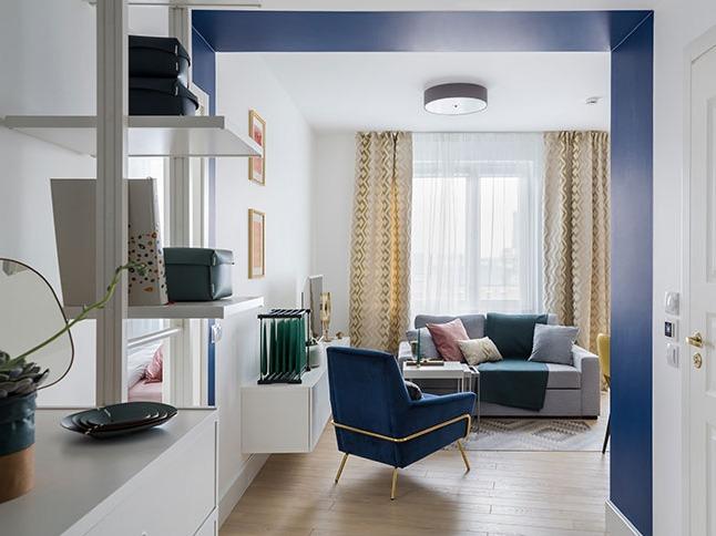 圣彼得堡49平米现代公寓