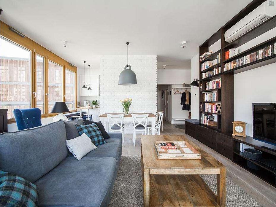 斯德哥尔摩两居公寓 简约通透的北欧新居