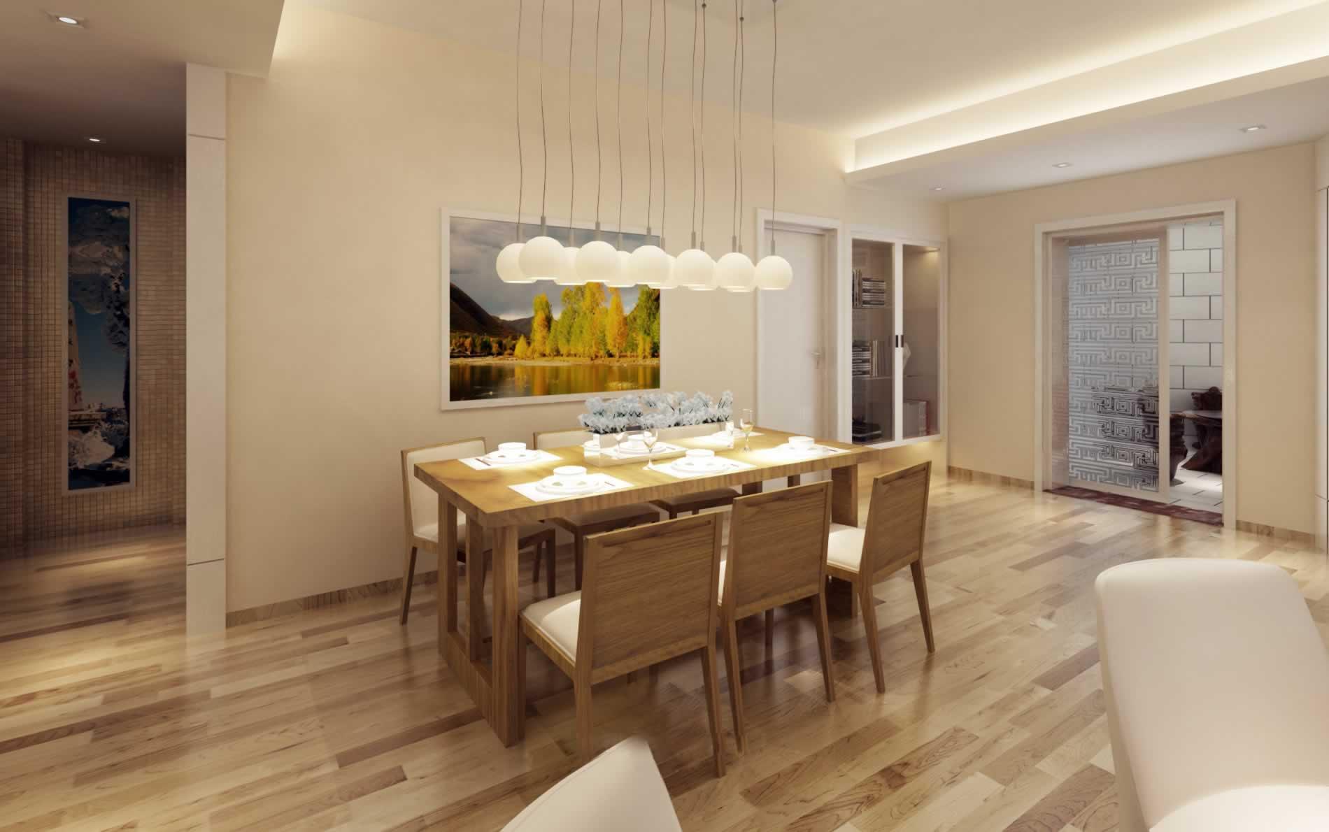 简约风格两室一厅装修案例68平米二居室装修效果图_尹