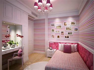混搭卧室背景墙效果图